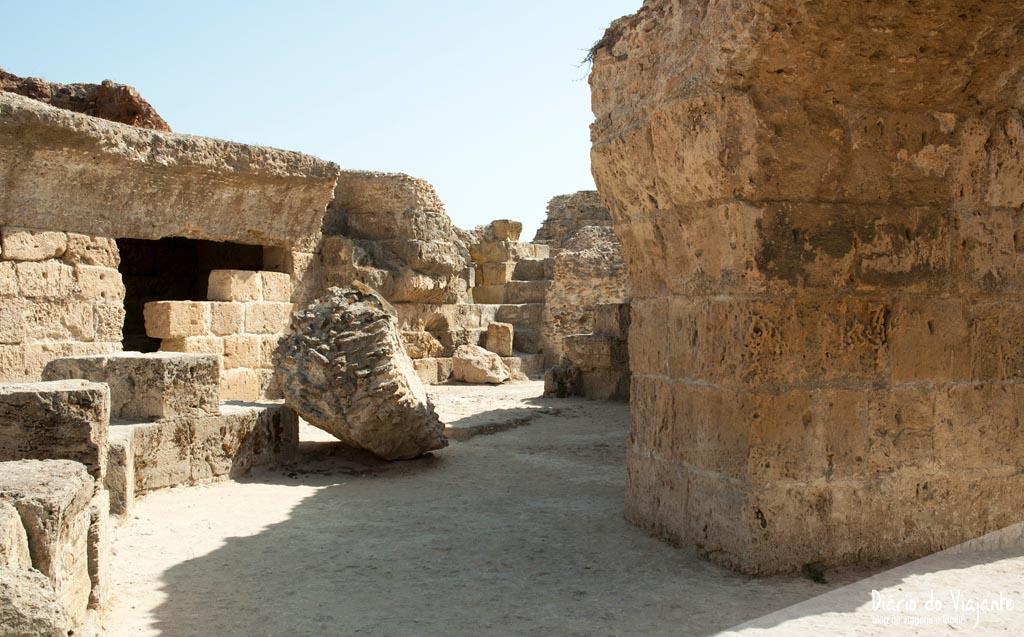 Tunísia: Antonine Baths | Diário do Viajante