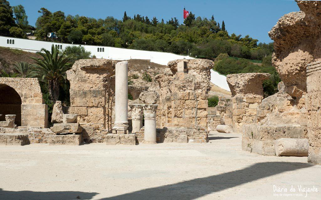 Antonine Baths, as Termas Romanas | Tunísia