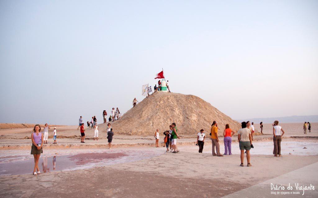 Chott El Jerid, o grande lago salgado | Tunísia