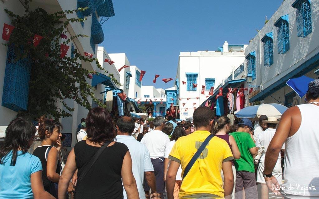 Tunísia: Sidi Bou Said | Diário do Viajante
