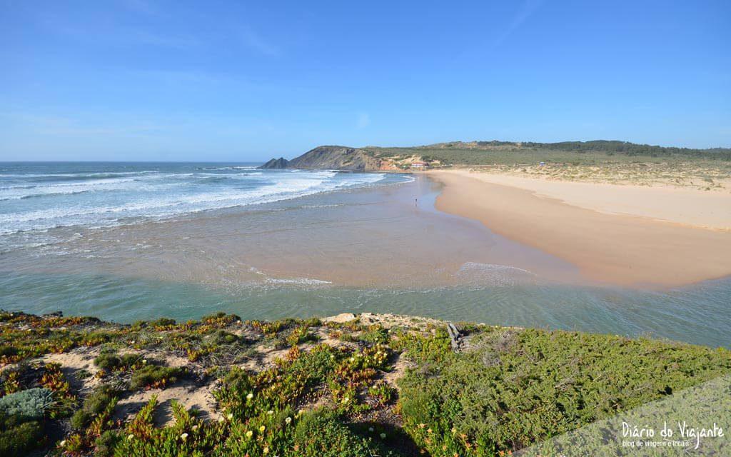 Praia da Amoreira, Lisboa a Sagres pela Costa Vicentina | Diário do Viajante