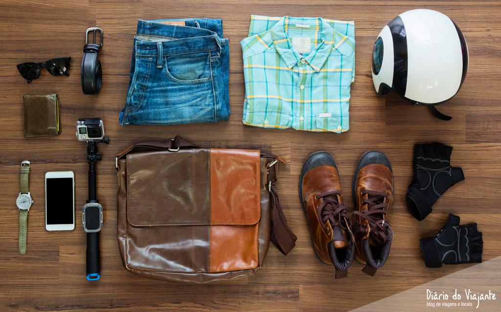 Dicas: O que levar na bagagem para a viagem | Diário do Viajante