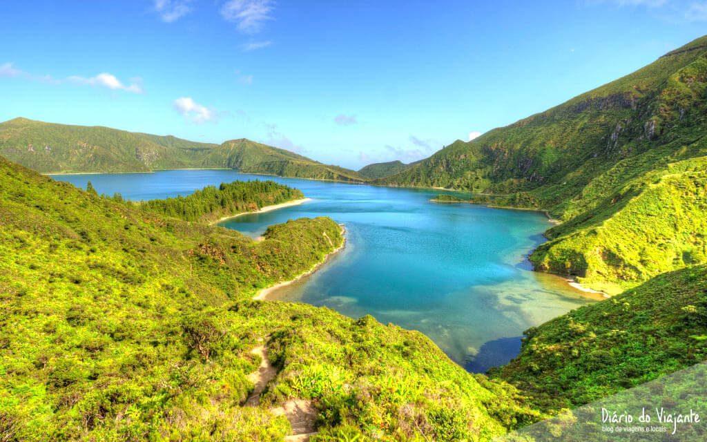 Caminhada pela Lagoa do Fogo | Açores