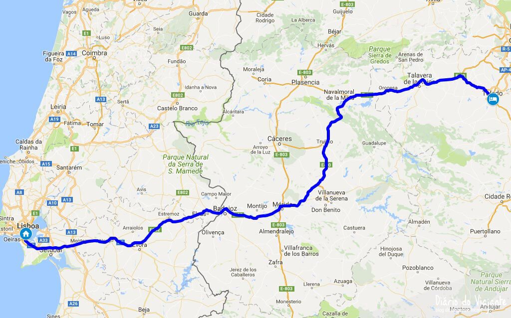 Quatro dias por Toledo, Segóvia e Ávila | Diário do Viajante