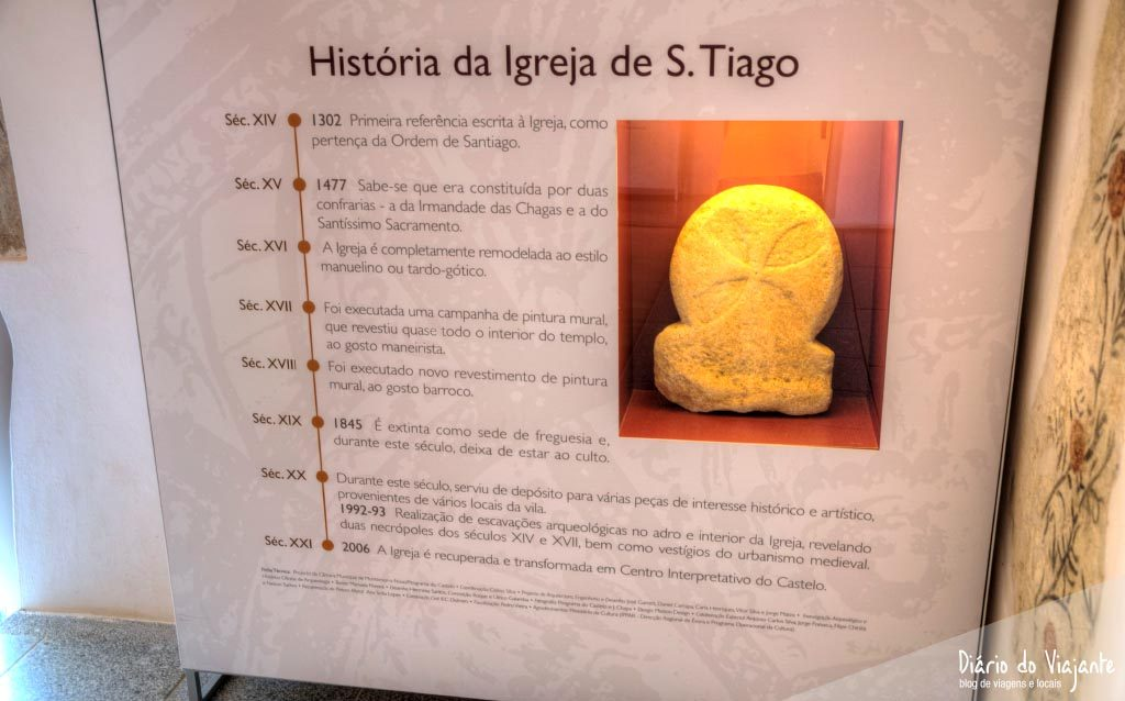Igreja São Tiago, Centro Interpretativo | Montemor-o-Novo