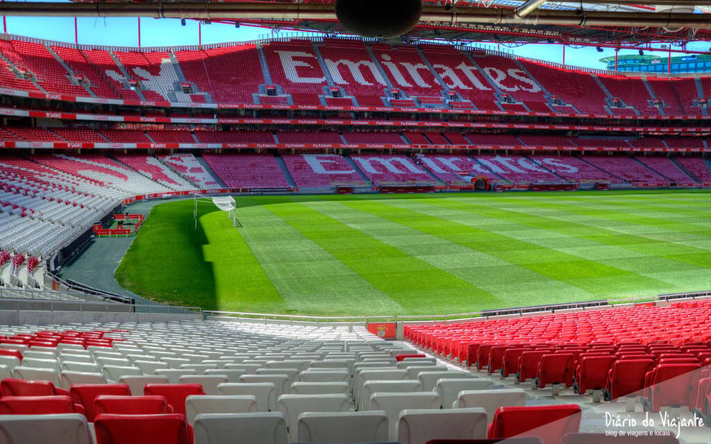 Visita ao Estádio da Luz - Sport Lisboa e Benfica   Diário do Viajante