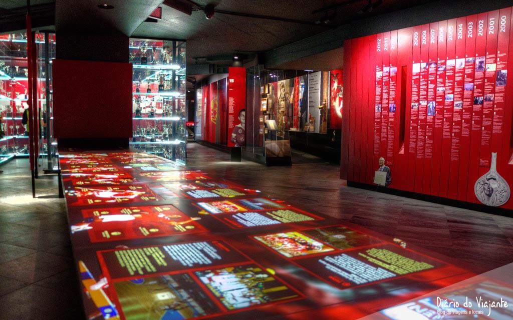 Visita ao Museu Benfica Cosme Damião | Diário do Viajante