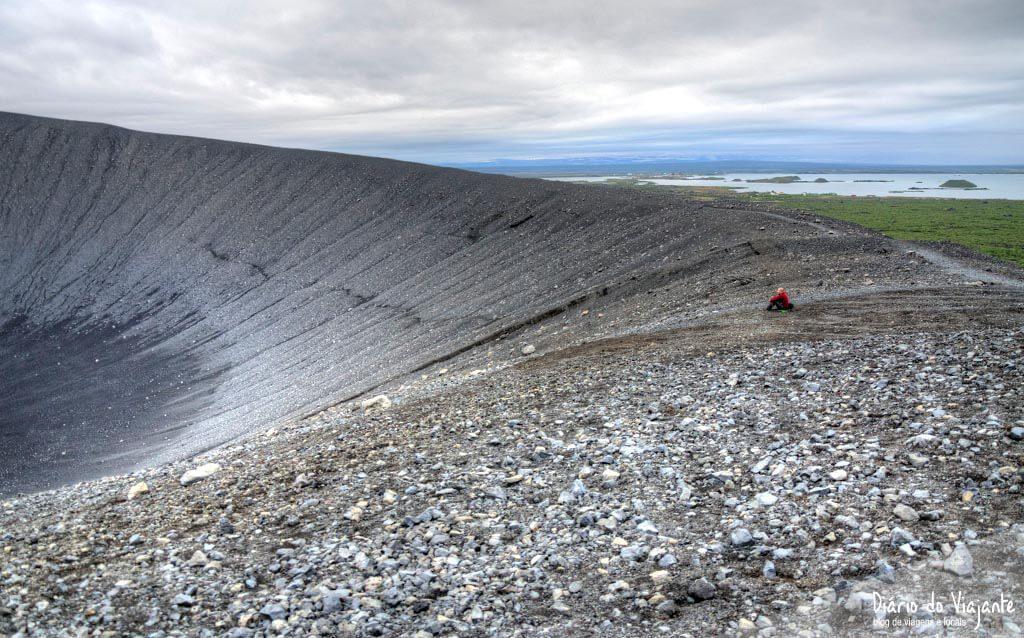 Hverfjall, o vulcão adormecido há 3000 anos | Islândia
