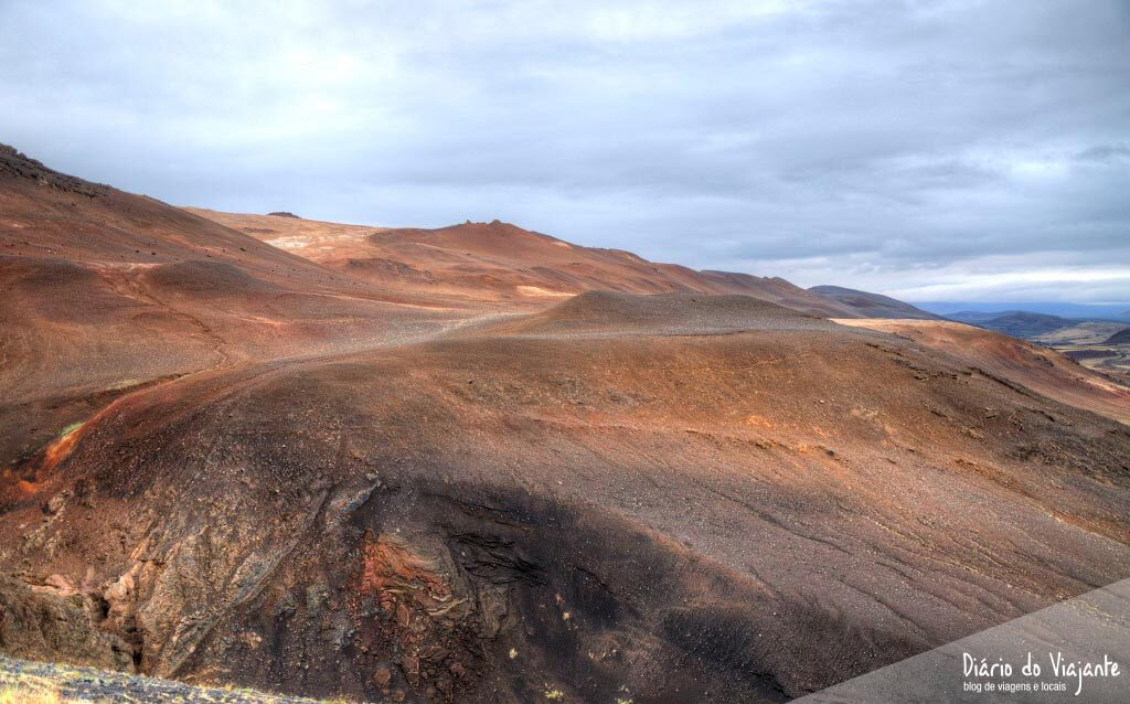 Námafjall, uma paisagem intrigante e surrealista | Islândia