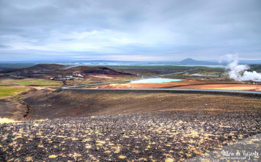 Islândia: Námafjall, uma paisagem intrigante e surrealista | Diário do Viajante