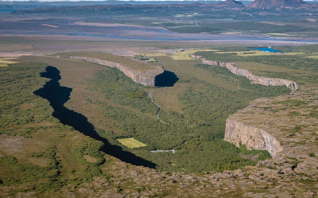 Ásbyrgi, o abrigo dos Deuses | Islândia