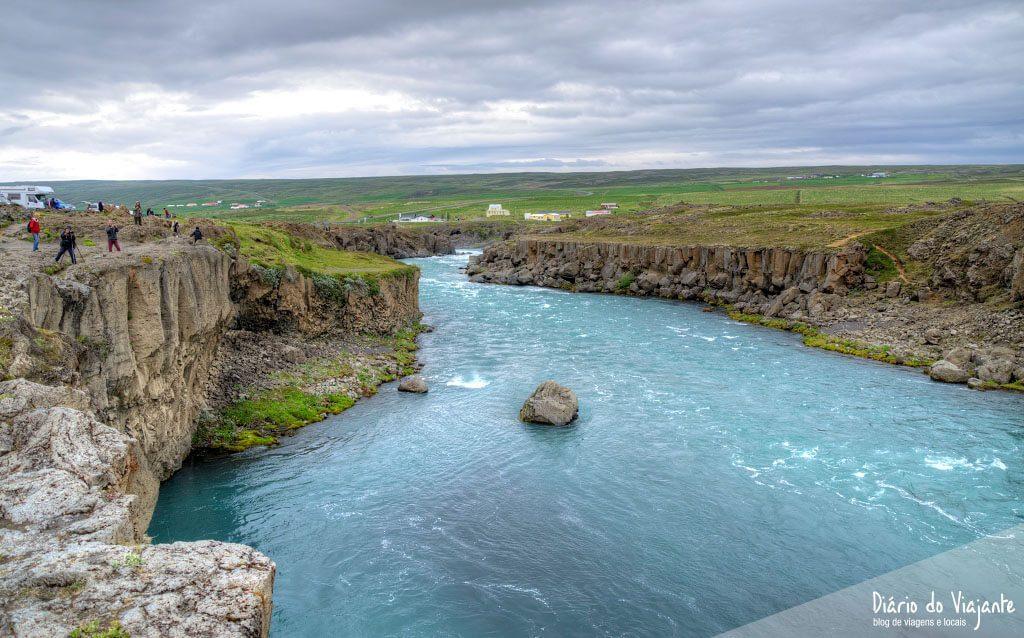 Godafoss, a catarata dos Deuses | Islândia