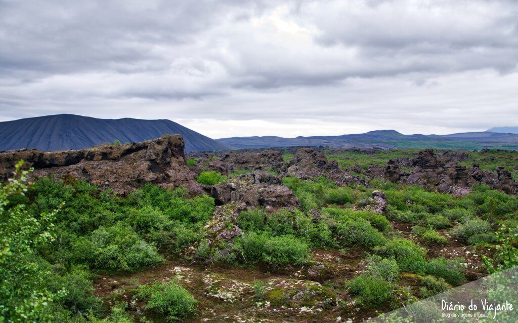 Dimmuborgir e os castelos de lava | Islândia