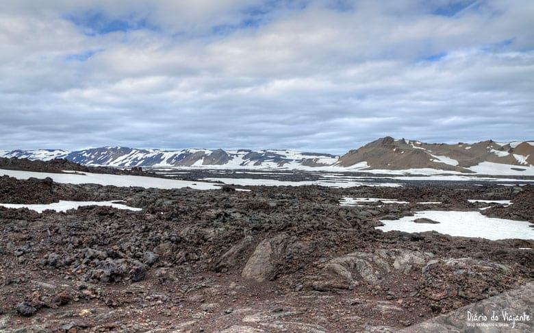 Islândia: Askja, e a caldeira vulcânica Víti | Diário do Viajante