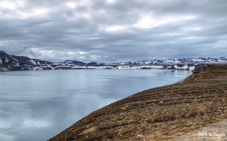 Islândia: Askja, e a caldeira vulcânica Víti   Diário do Viajante
