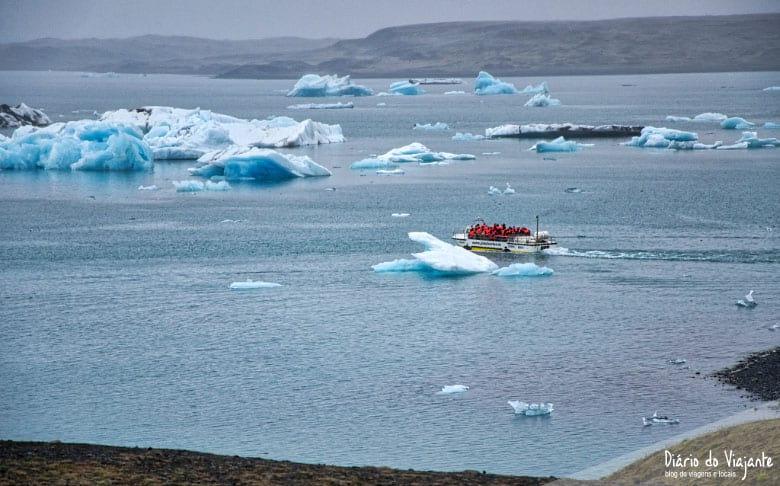 Jökulsárlón, o lago glacial | Islândia