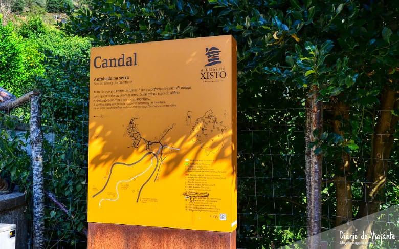 Aldeias de Xisto: Candal, aninhada na serra