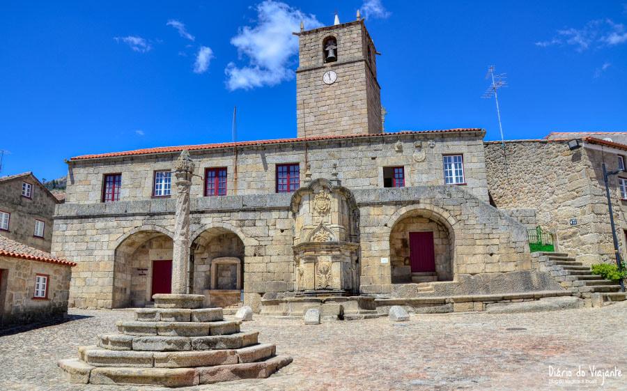 Aldeias Históricas de Portugal: Castelo Novo, Antiga Casa da Câmara / Paços do Concelho