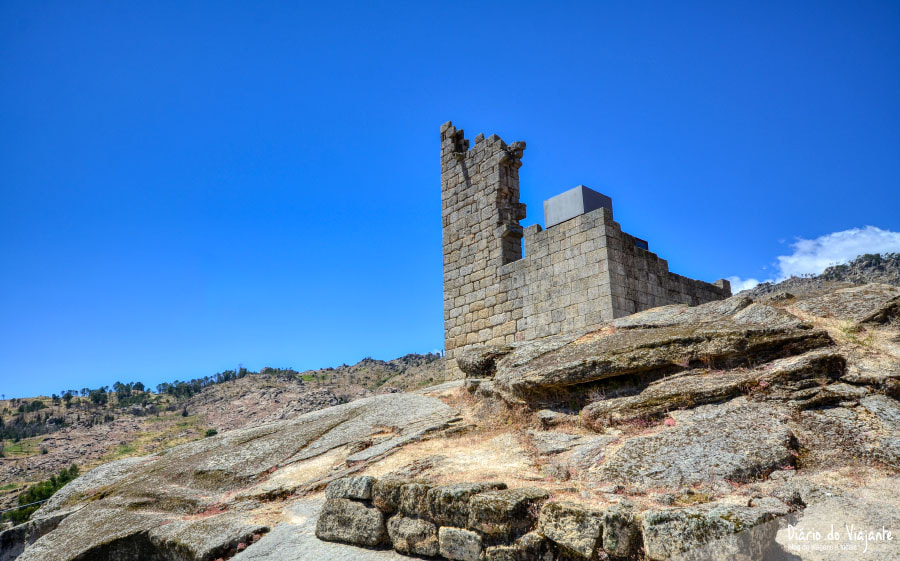 Aldeias Históricas de Portugal: Castelo Novo, Torre de Menagem