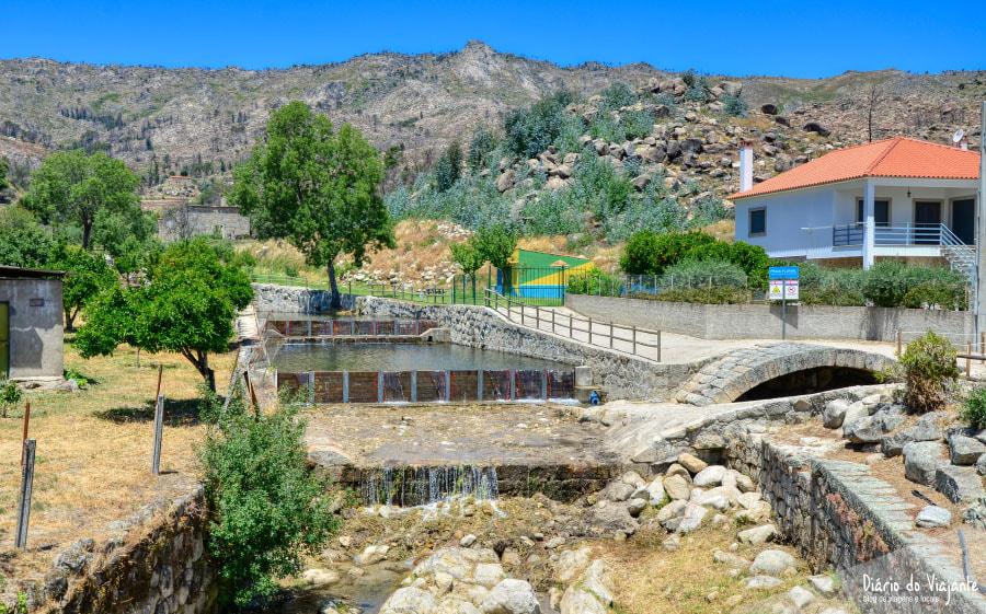 Aldeias Históricas de Portugal: Castelo Novo, Praia Fluvial