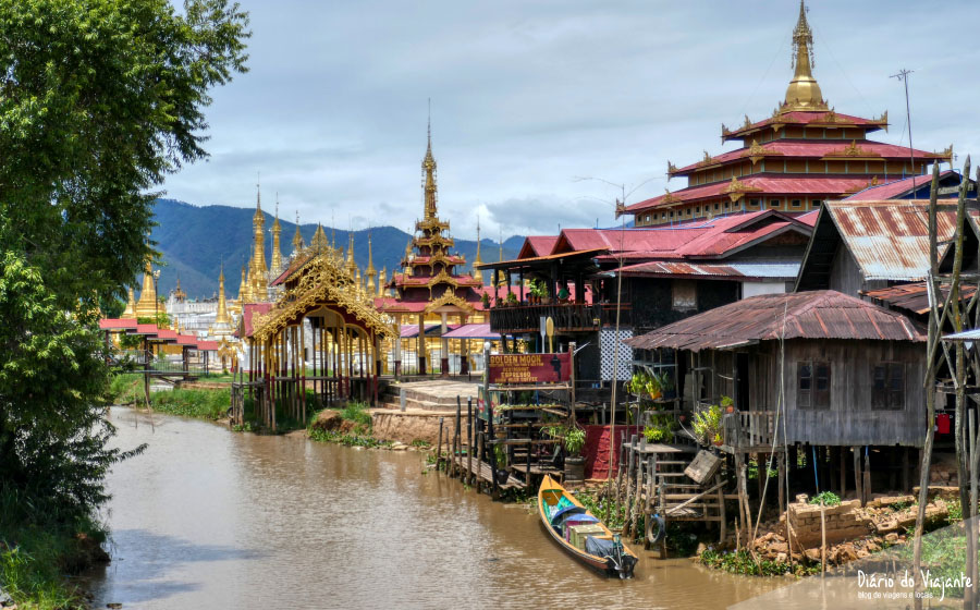 O clima e a geografia em Myanmar