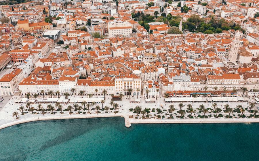 Split, Croácia - Locais a visitar na Europa